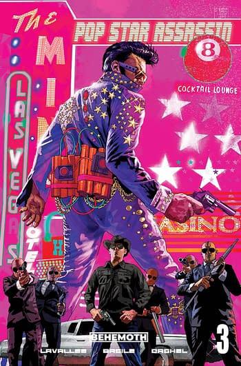 Cover image for POP STAR ASSASSIN #3 (OF 6) CVR C FRASER COOMBE (MR)