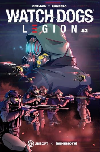 Cover image for WATCH DOGS LEGION #2 (OF 4) CVR B MASSAGGIA (MR)