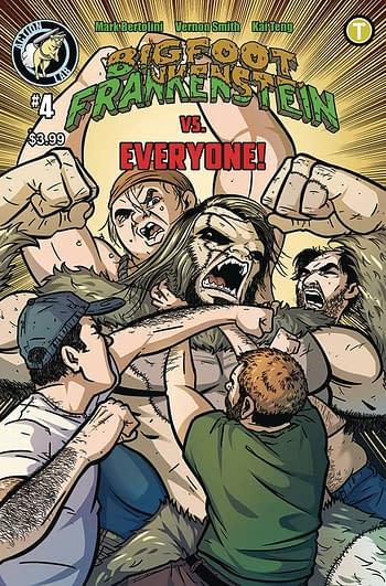Cover image for BIGFOOT FRANKENSTEIN #4