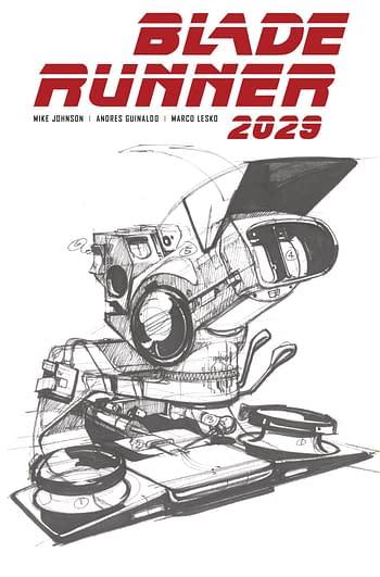 Cover image for BLADE RUNNER 2029 #10 CVR B MEAD (MR)