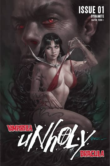 Cover image for VAMPIRELLA DRACULA UNHOLY #1 CVR A PARRILLO