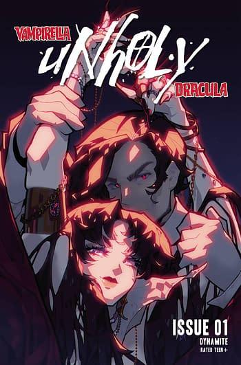 Cover image for VAMPIRELLA DRACULA UNHOLY #1 CVR B BESCH