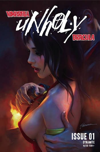 Cover image for VAMPIRELLA DRACULA UNHOLY #1 CVR C MAER