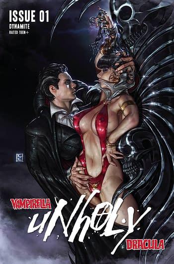 Cover image for VAMPIRELLA DRACULA UNHOLY #1 CVR D EOM