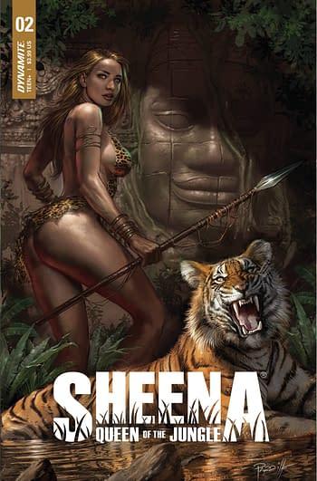 Cover image for SHEENA QUEEN JUNGLE #2 CVR A PARRILLO