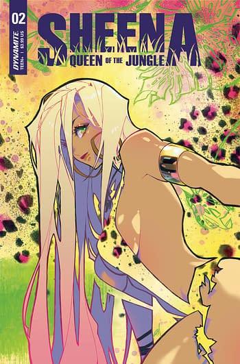 Cover image for SHEENA QUEEN JUNGLE #2 CVR B BESCH