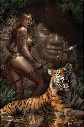 Cover image for SHEENA QUEEN JUNGLE #2 CVR J PARRILLO LTD VIRGIN