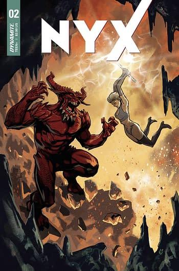 Cover image for NYX #2 CVR B DAGNINO