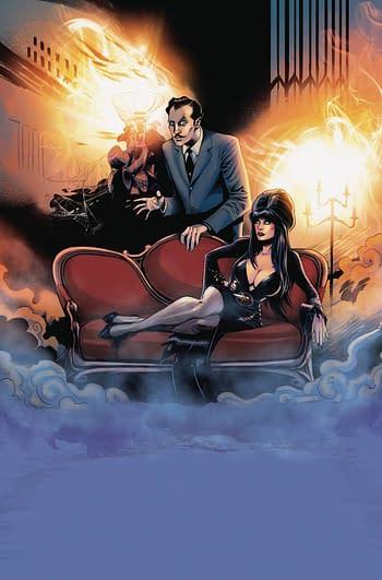 Cover image for ELVIRA VINCENT PRICE #1 CROWDFUNDER EXC VIRGIN HOLO FOIL CVR