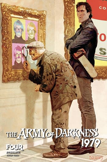 Cover image for ARMY OF DARKNESS 1979 #4 CVR B SUYDAM