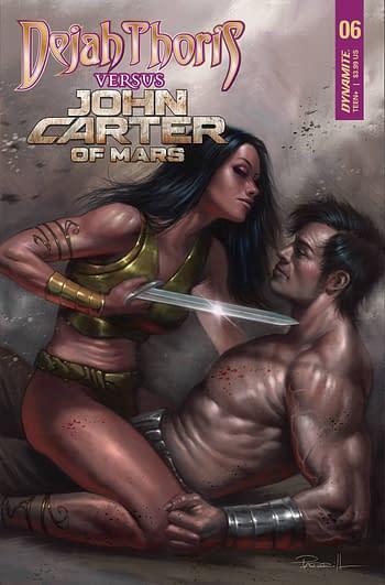 Cover image for DEJAH THORIS VS JOHN CARTER OF MARS #6 CVR A PARRILLO