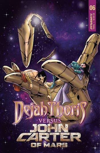 Cover image for DEJAH THORIS VS JOHN CARTER OF MARS #6 CVR C MIRACOLO