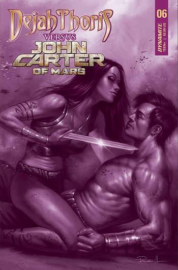 Cover image for DEJAH THORIS VS JOHN CARTER OF MARS #6 CVR F 15 COPY INCV PA