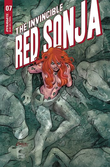 Cover image for INVINCIBLE RED SONJA #7 CVR A CONNER
