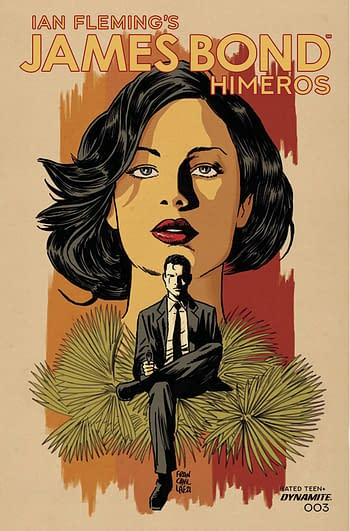 Cover image for JAMES BOND HIMEROS #3 CVR A FRANCAVILLA