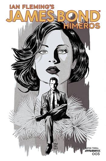 Cover image for JAMES BOND HIMEROS #3 CVR C 10 COPY INCV FRANCAVILLA B&W