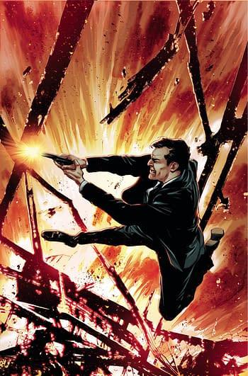 Cover image for JAMES BOND HIMEROS #3 CVR E GUICE LTD VIRGIN