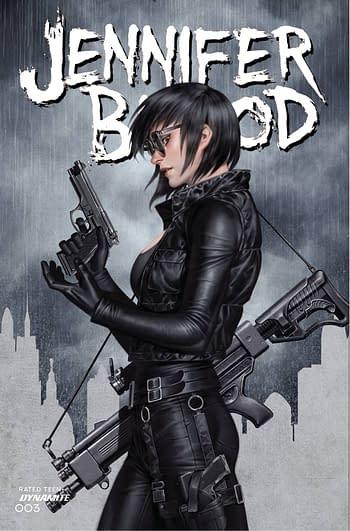 Cover image for JENNIFER BLOOD #3 CVR D YOON (MR)