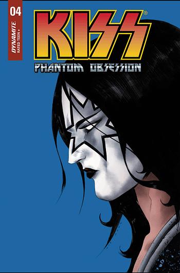 Cover image for KISS PHANTOM OBSESSION #4 CVR A LEE