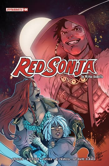 Cover image for RED SONJA (2021) #4 CVR D DURSO