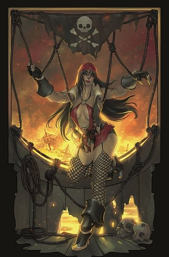 Cover image for VAMPIVERSE #4 CVR K HETRICK LTD VIRGIN
