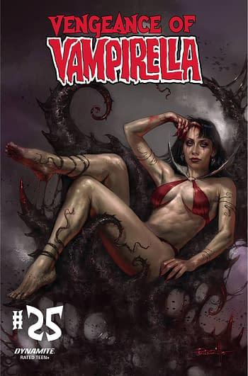 Cover image for VENGEANCE OF VAMPIRELLA #25 CVR A PARRILLO