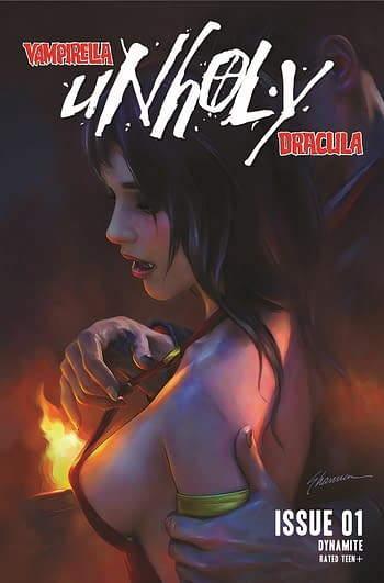 Priest & Donny Hadiwidjaja Launch Vampirella/Dracula: Unholy #1
