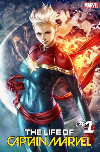 Marvel Comics Register a Ton of Captain Marvel Trademarks