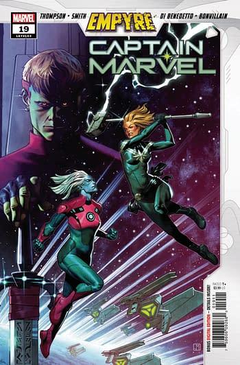 Captain Marvel #19 Main Cover