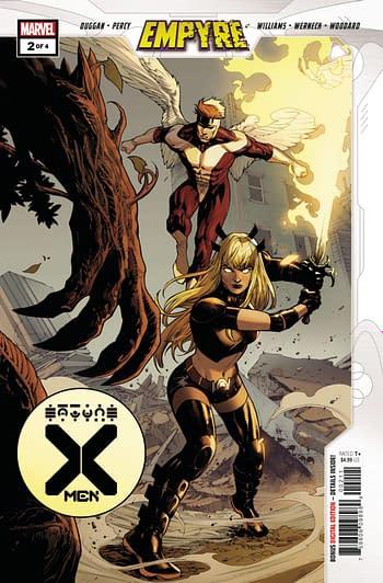 EMPYRE X-Men #2 Main Cover