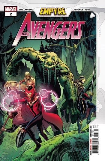 Empyre Avengers #2 Cover