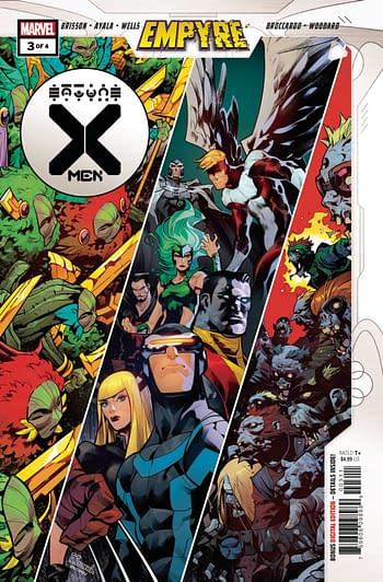 Empyre X-Men #3 Main Cover