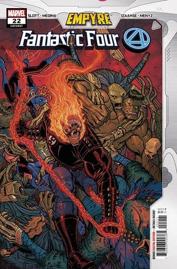 Fanatastic Four #22 Main Cover