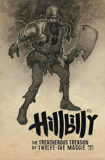 Hillbilly: Treacherous Toe in Albatross Funnybooks November Solicits