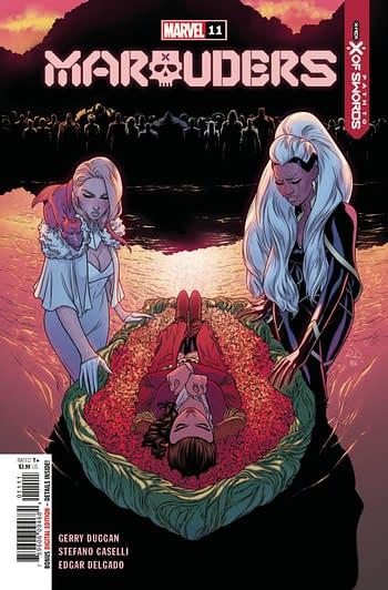 Marauders #11 Main Cover