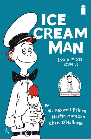 Ice Cream Man #20 Second Printing From Image Sells More Than First