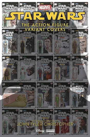 Star Wars Action Figure Variant Covers #1 Main Cover