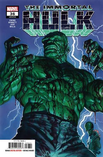 The Immortal Hulk #36 Main Cover