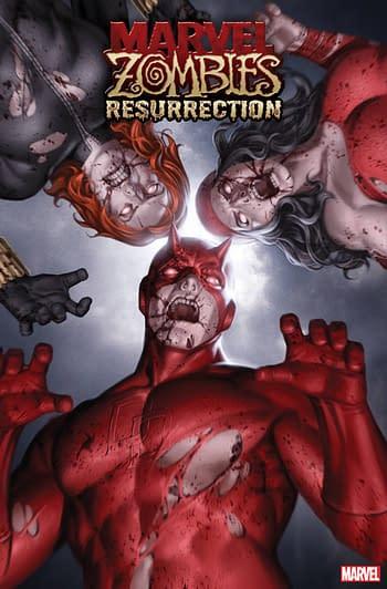Marvel Zombies Resurrection #1 Junggeun Yoon Variant Cover