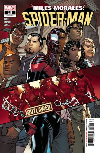 Miles Morales Spider-Man #18 Main Cover