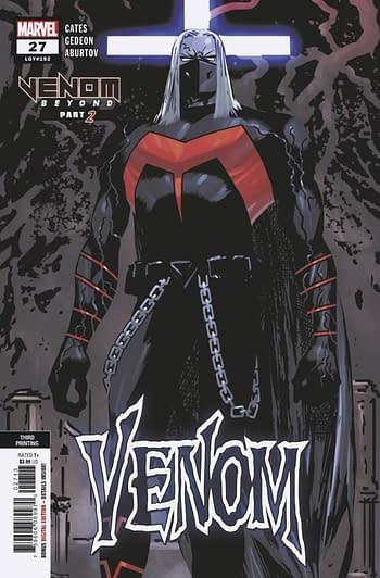 Venom, Thor, Black Widow and Champions Top Advance Reorders