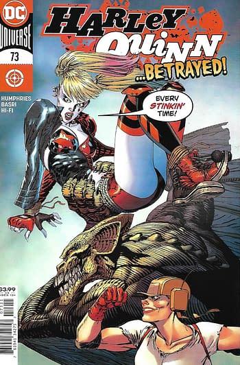 DC Harley Quinn #73 Main Cover