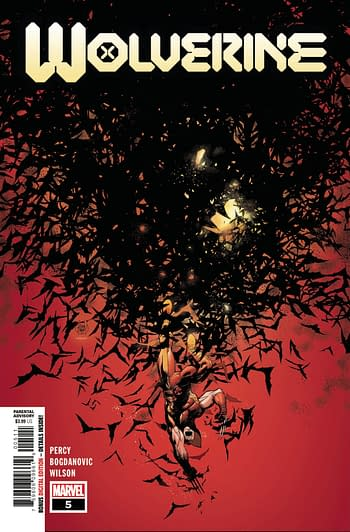 Wolverine #5 Main Cover