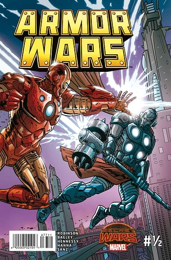 Armor Wars #1/2 Front Cover