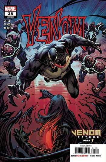 Venom Tops Top 500 Diamond September 2020 Comics Chart and Marketshare