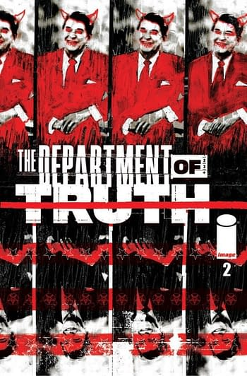 The Department Of Truth #2 Gets 50,000 Orders