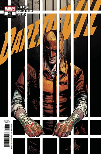 Daredevil #25 Standard Cover Selling Copies For $150 Each, Raw