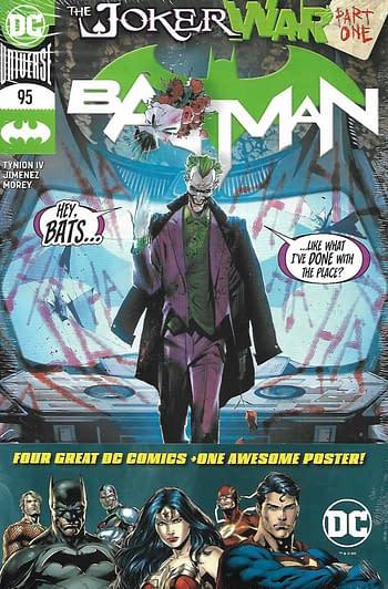 Batman #95 Pack Front