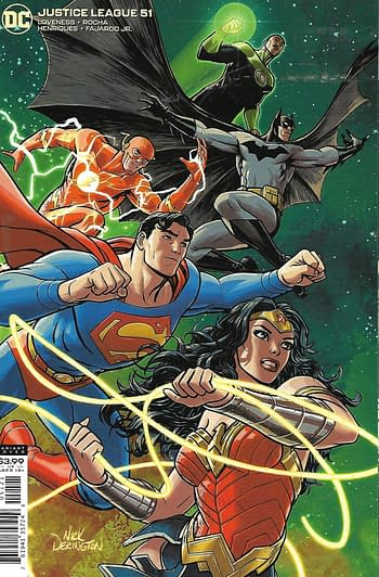 Justice League #51 Variant Cover