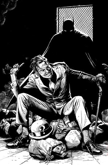Jamie McKelvie and Kieron Gillen on Batman In April